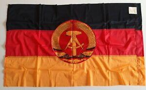 original GDR FLAG communist East german DDR Fahne NVA ГДР флаг 60 cm x 100 cm
