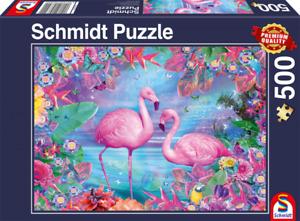 Flamingos: Schmidt Premium Fantasy Jigsaw Puzzle 500 pces 58342