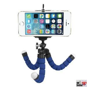 Blue Small Flexible Octopus Tripod / Gorillapod for Digital Camera / Mobile P...