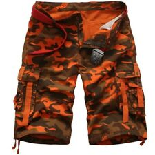 7f97ac2080 Men New Summer Shorts Camouflage Multi-Pocket Overalls Fashion Cargo  Trousers 38