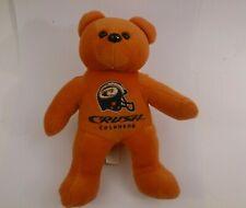AFL Denver Colorado Crush Bear Plush Beanie Arena Football League Memorabilia