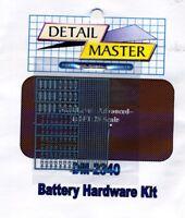 Detail Master 2340x 1/24-1/25 Battery Hardware Kit