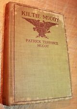 FIRST EDITION 1918 KILTIE MCCOY PATRICK TERRENCE American Boy with Irish Name