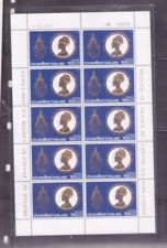 Thailand 1992 H.M. The Queen's 60th Birthday Anniversary (1st Series) full sheet