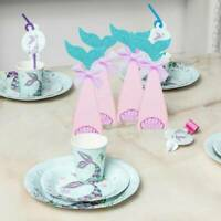 10 PCS Mermaid Theme Party Candy Box Kids Baby Shower Birthday Party Decoration