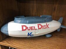 """Vtg Yu-Gi-Oh Duel Disk KC Blimp 15"""" Storage Case Air Ship Kazuki Takahashi 1996"""