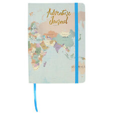 A5 Travel Journal Adventures notebook suitable for holidays diary travels 21cm