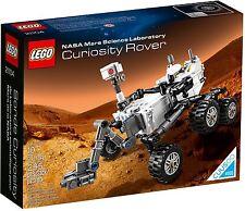 LEGO - 21104 - NASA MARS SCIENCE LABORATORY CURIOSITY ROVER NEW - SEALED - MISB