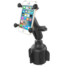 "RAM Stubby™ Cup Holder X-Grip Mount for iPhone,  Samsung ""S"" Series, Others"