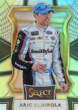 2017 PANINI SELECT RACING NASCAR SILVER PRIZM PARALLEL ARIC ALMIROLA NO. 35