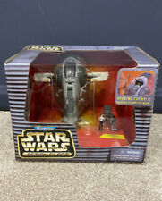 Star Wars Galoob Action Fleet Slave I - Complete