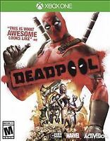 Deadpool (Microsoft Xbox One) Brand New Factory Sealed
