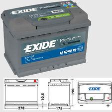 096 Exide Premium EA770 heavy duty 4 yr warranty car battery