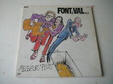 Font et Val Messieurs plus 33 tours LP