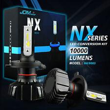 2x 10000LM H4 9003 HB2 LED Headlight Conversion High/Low Beam Bulbs 6500K WHITE