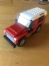 Land Rover Defender 90 custom built lego