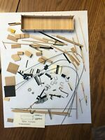 HO Scale Scotia Models 36' Truss Rod Gondola Kit #R-103, Partially Assembled
