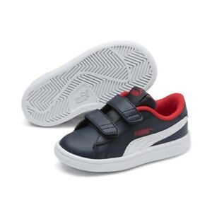 Puma Smash v2 L V Inf Low Top Kinder Schuhe Sneaker