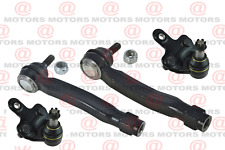 For Toyota HIGHLANDER 2008 to 2017 Front Outer Tie Rod Ends & Lower Ball Joints