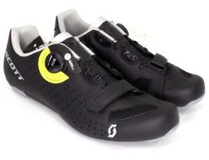 Scott Road Comp Boa Bike Cycling Shoes Black Men's Size 43 US / 9.5 EU