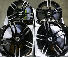 "ALLOY WHEELS X 4 19"" BMF DMF STAG FITS BMW 7 SERIES E65 X3 X5 E53 M14X1.5"