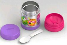 Thermos Shopkins 10oz Funtainer Food Jar - Purple Hot Lunch box bento reuse