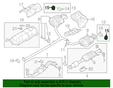 Genuine Kia Rear Muffler Hanger 28762-3K100