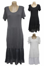 Midi 100% Cotton Dresses for Women with Smocked