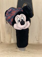 Mickey Mouse Golf Club Cover Disney Red Plaid Golf Hat Original Tags