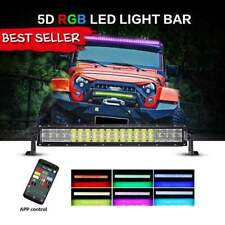 22 inch 120W Combo Straight Color Changing LED Light Bar