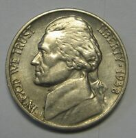 Key Date 1938 Jefferson Nickel In The AU Range  DUTCH AUCTION