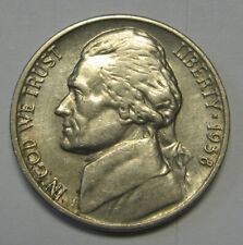 Key Date 1938 Jefferson Nickel In The AU Range  DUTCH AUCTION