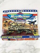 Vintage Military Micro Machines World War 2 Classics #18 New 1995 War Classics