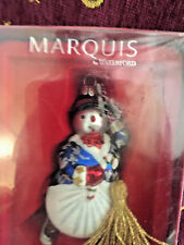 Marquis by Waterford Skater Boy Glass Christmas Ornament Nip 155075