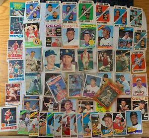 Old Sports Trading Cards 1950s-thru-80s Many Rookies & More TAKE A SWING   03-65