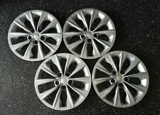 514 16s 16 Silver Hubcaps Replacement Wheel Covers For 2015 2018 Toyota Camry Fits Toyota