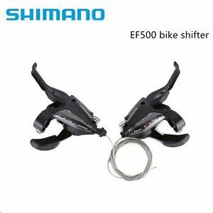 Shimano EF500 3x7/3/8 Speed Shifters / Brake Levers Combo MTB Kit UK