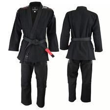 Verus Gladius Style BJJ Grappling Uniform No GI Wear GI Black Size A1