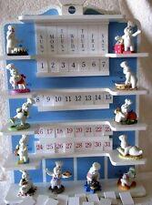Complete 1997 Pillsbury DoughBoy Danbury Mint Perpetual Calendar, Figurines NICE
