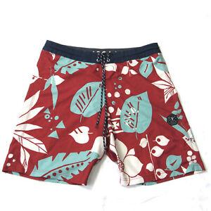 Vissla Mens Boardshorts Swim Trunks Size 34