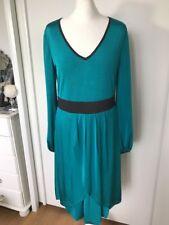 Trinny & Susannah Green Long Sleeve Dress Size 14