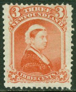 EDW1949SELL : NEWFOUNDLAND 1870 Mint No Gum. Fresh stamp. Catalog