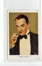 (Jd3655) SALEM,FILM STARS,WILLI FORST,1930,#112