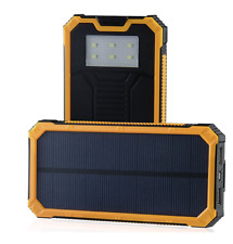 Solar Power Charger 15000mAh Portable Power Bank - Dual USB Output Solar battery