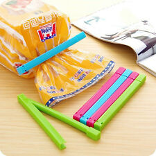 6pcs Fresh Snack Food Storage Bag Clip Closer Sealing Sealer Clip Clamp Tool CN