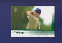 Mike Weir RC 2001 Upper Deck Golf #20