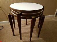 Vintage Midcentury Modern MCM Stacking  Nesting Tables Side Tables Atomic 1960
