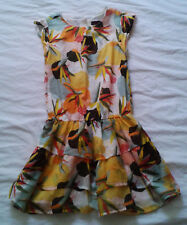 ROBE CATIMINI MULTICOLORE 14 ANS
