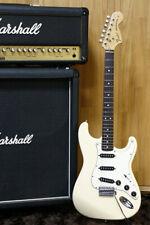1990's Fender Japan '72 reissue Stratocaster ST72-55 Vintage white Made in Japan