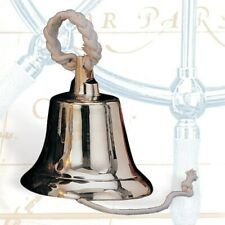 """Solid Brass Heavy Ship's Bell, 14"""""""